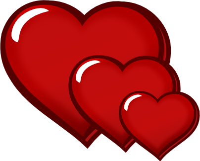 three-red-hearts-clipart