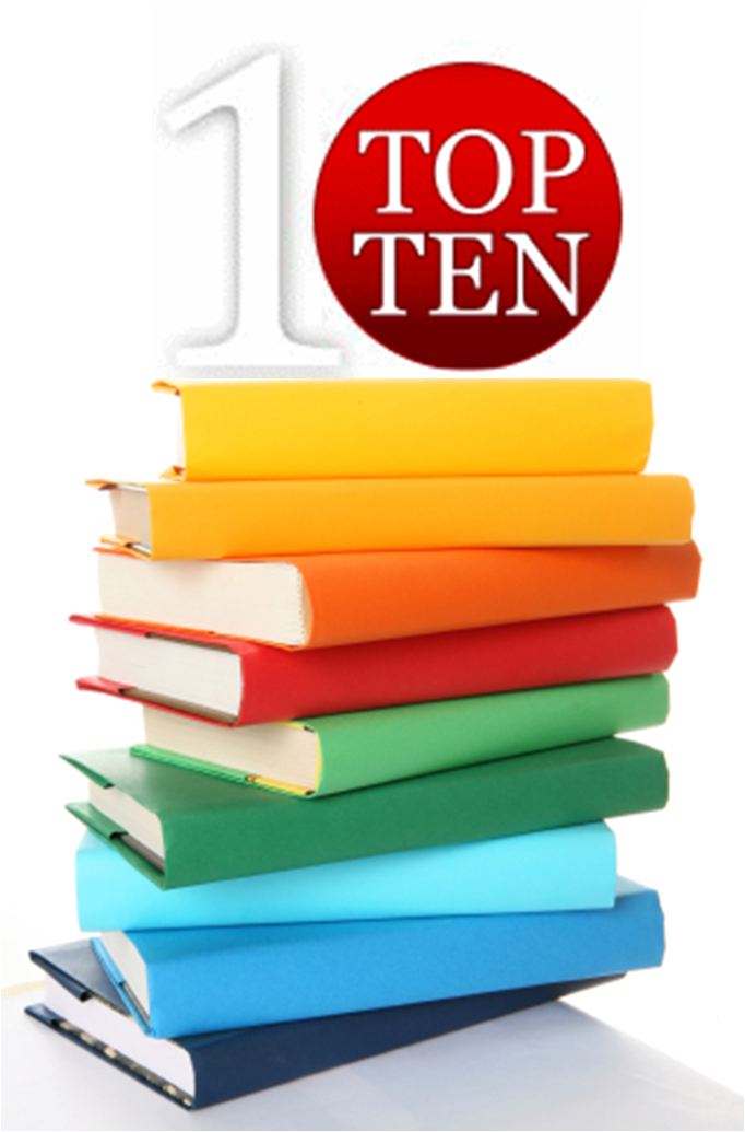 Top Ten Books USED