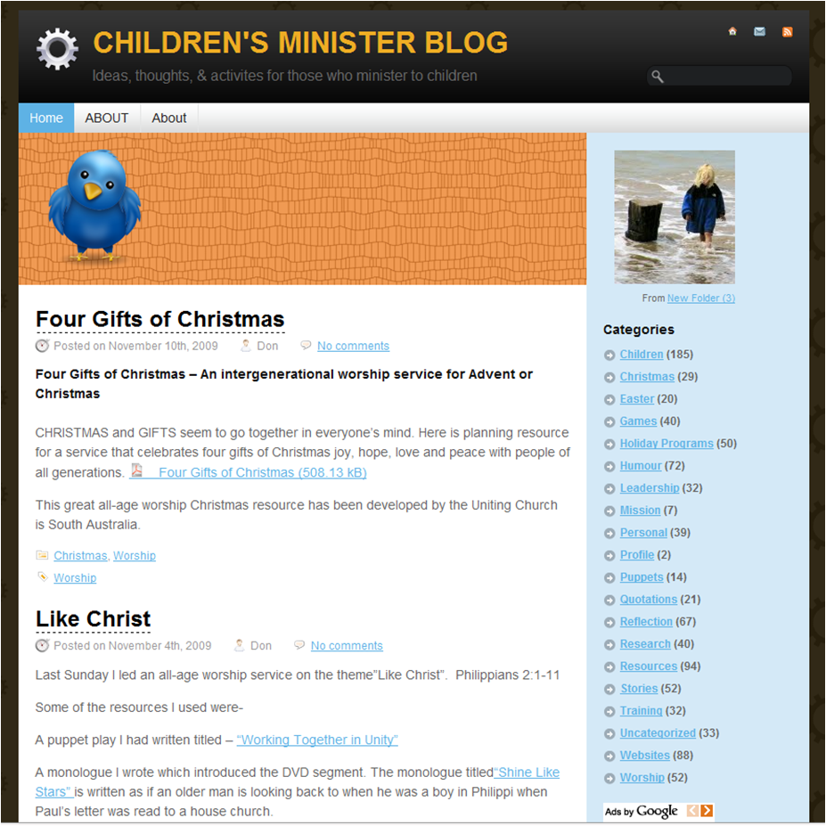 Childrens Ministry Blog