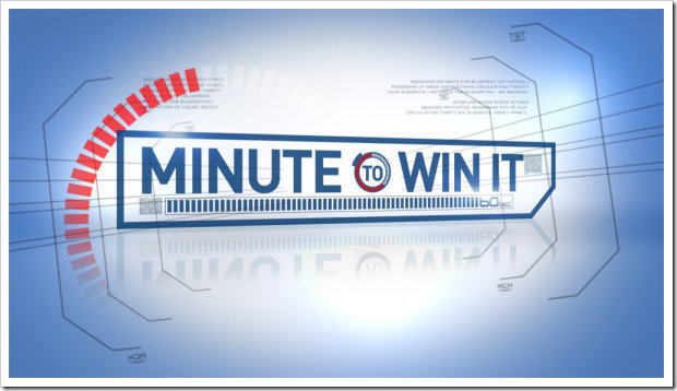 Another Post on Minute to Win It for Children's Ministry