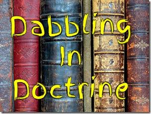 Dabbling in Doctrine